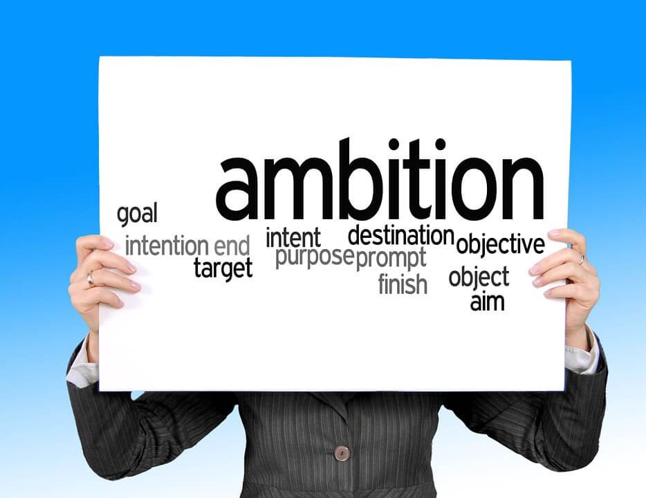how to be ambitious and happy