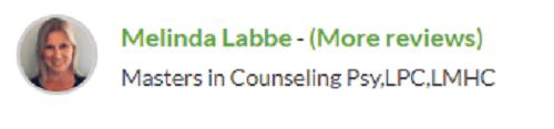 betterhelp online therapist melinda labbe