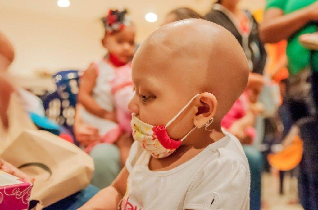 a study on childhood cancer Common types of childhood cancer when an adult gets cancer, it's likely to start in the lungs, breast, colon, prostate or skin when a kid gets cancer, it may be in the white blood cells or the nervous system, in the brain or bones, in the lymphatic system, muscles or kidneys.