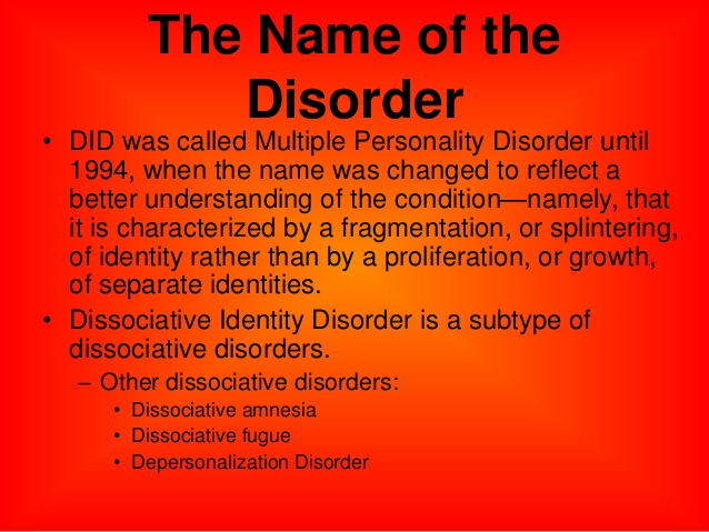 multiple personality disorder real or fake betterhelp source slideshare net