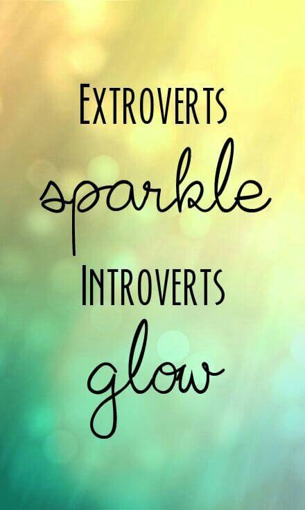 What does it mean to be extroverted