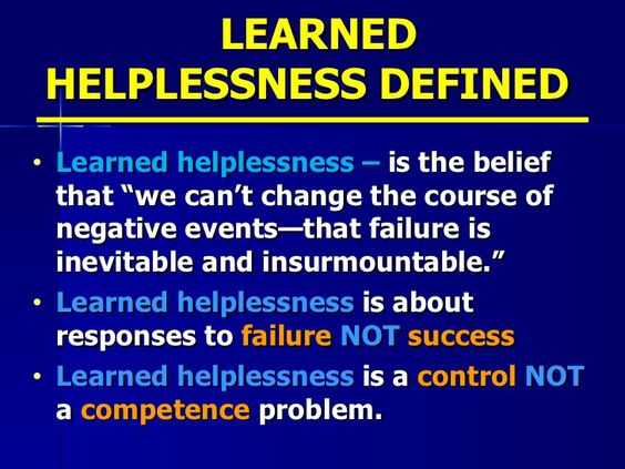 What Is The Learned Helplessness Psychology Definition Betterhelp