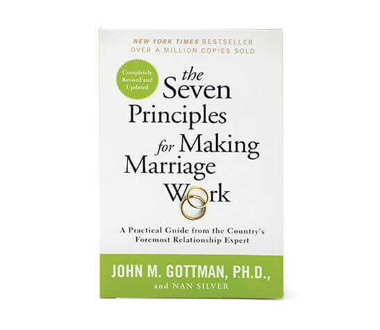 The best marriage counseling books for your relationship troubles the seven principles for making marriage work john m gottman and nan silver solutioingenieria Choice Image