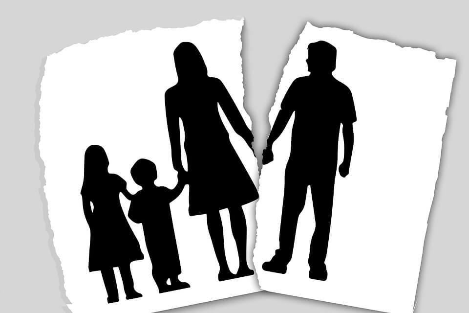 Image result for effects of divorce on children