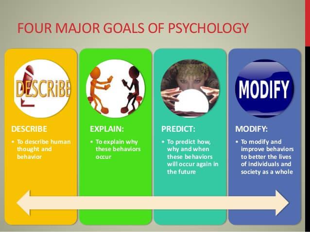 the four goals of psychology Op zoek naar drums, boomwhackers, andere drumgerelateerde artikelen, workshops of advertising essays bij triepels slagwerk in geleen bent u aan het juiste adres de.