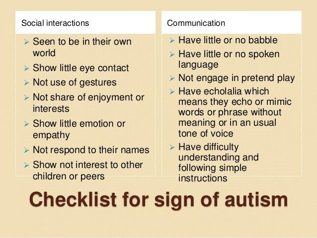 what is autism spectrum disorder pdf